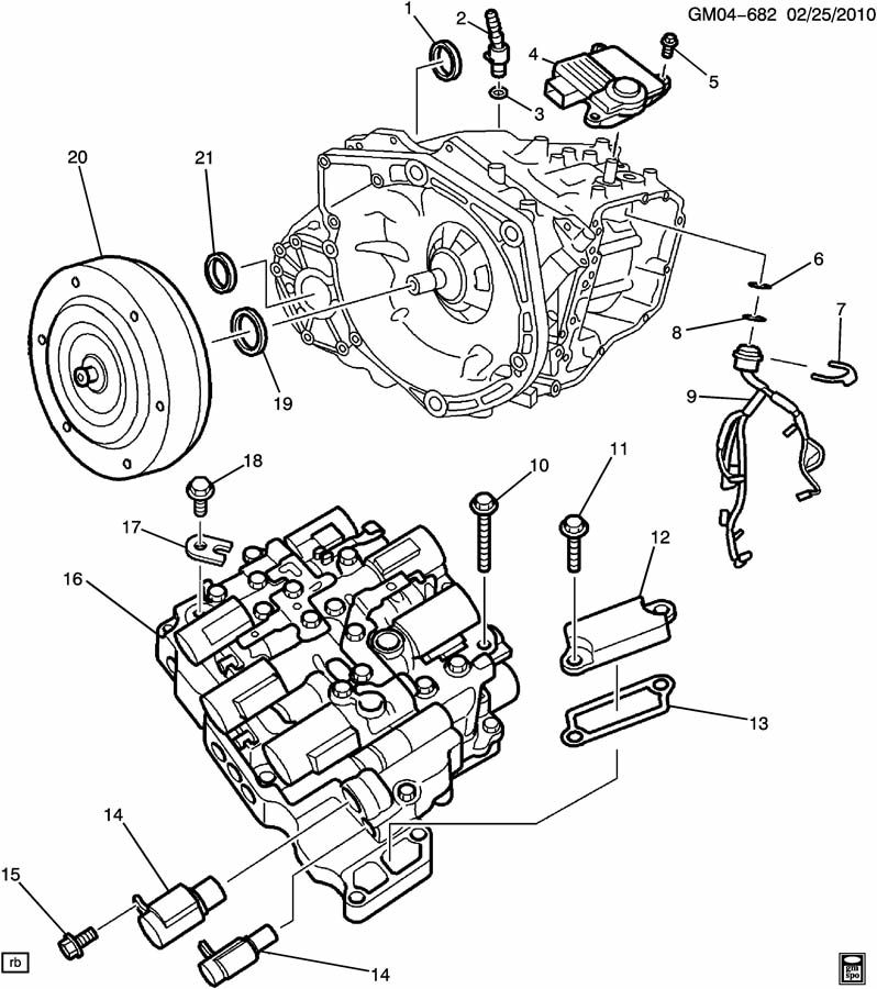 2013 Chevy Malibu Crankshaft Sensor Diagram