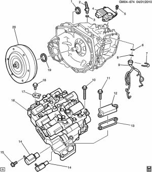 How the diesel Cruze AisinWarner AF406 transmission works  Chevy Cruze Forum  Chevrolet Cruze
