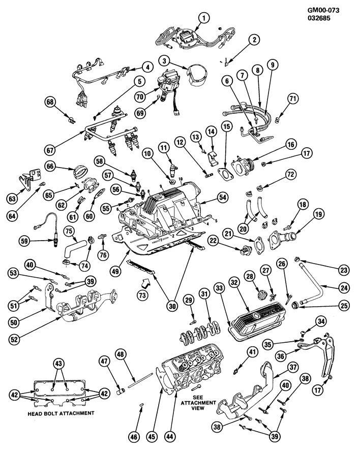 Oldsmobile 3 5l Engine Diagram