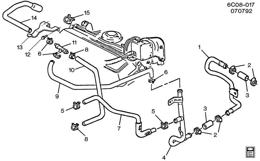 Diagram Cadillac Engine Cooling Diagram