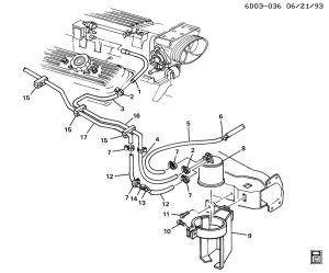 Throttle body hose routing  Chevy Impala SS Forum