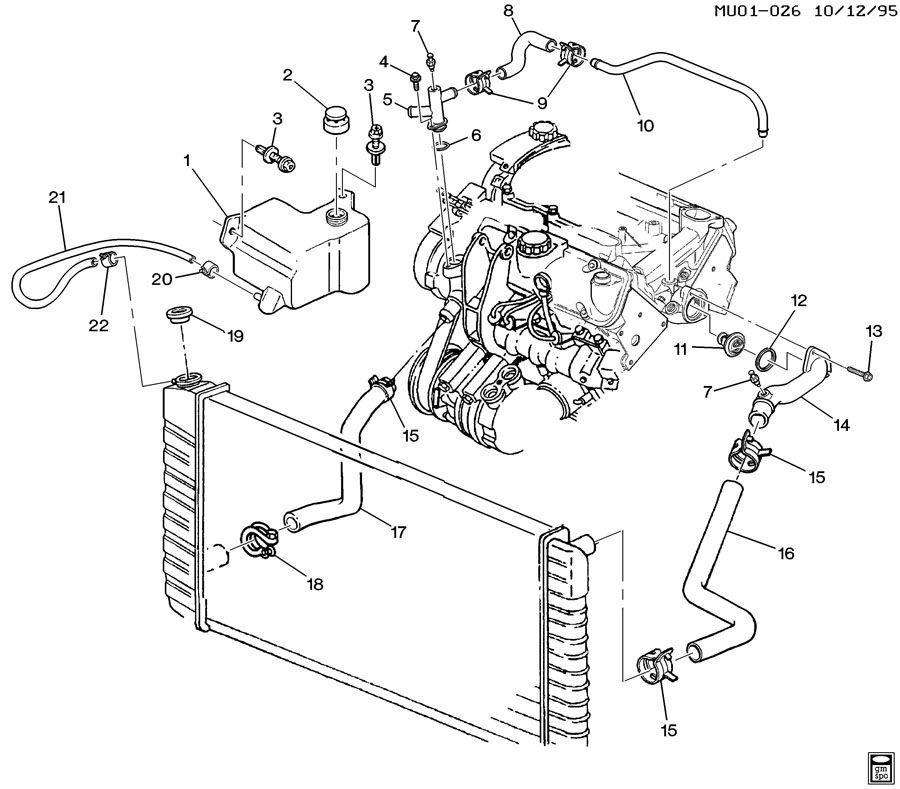 2004 Olds Alero Engine