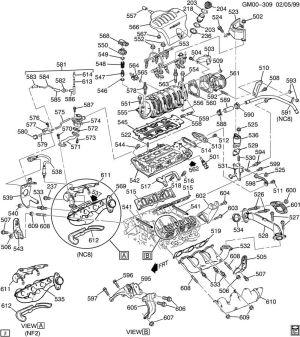2002 Pontiac 3800 Series 2 Engine Diagram  Wiring Diagram Ops