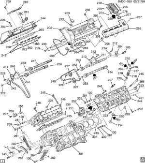 Cadillac northstar v8 engine diagram