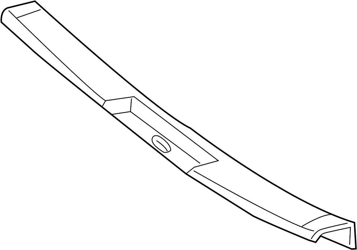 Trim Interior Body Side Rear