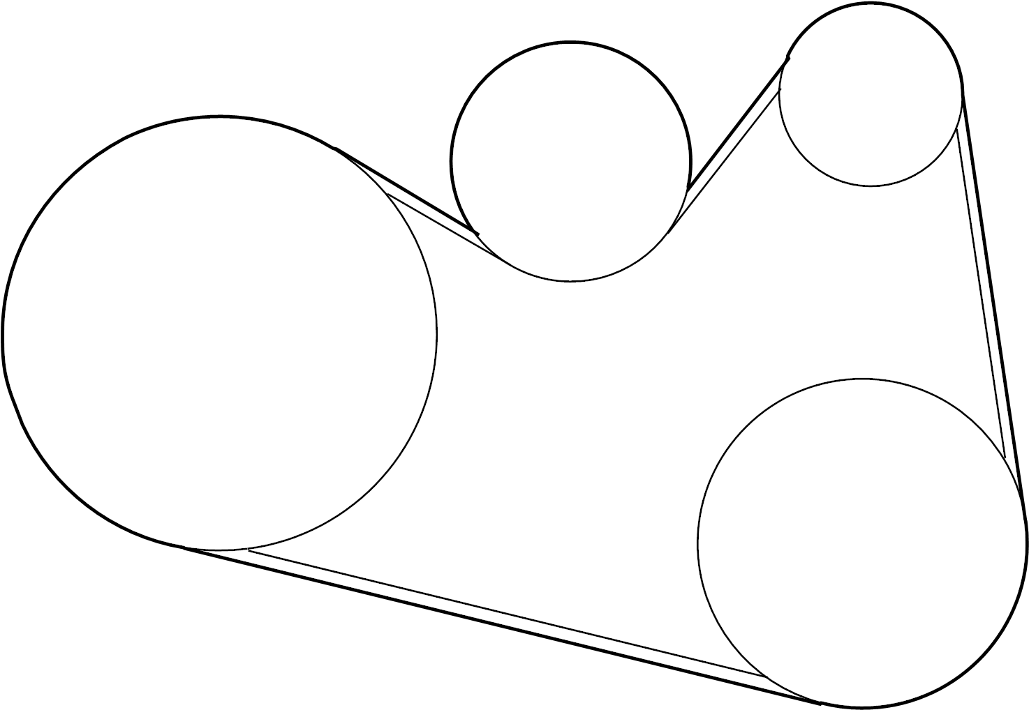 Nissan Murano Serpentine Belt