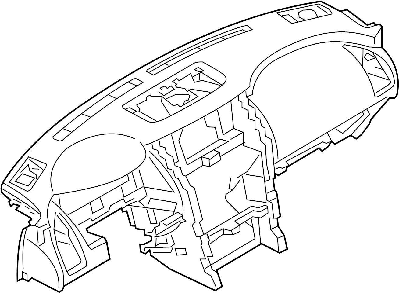 Nissan Armada Dashboard Panel