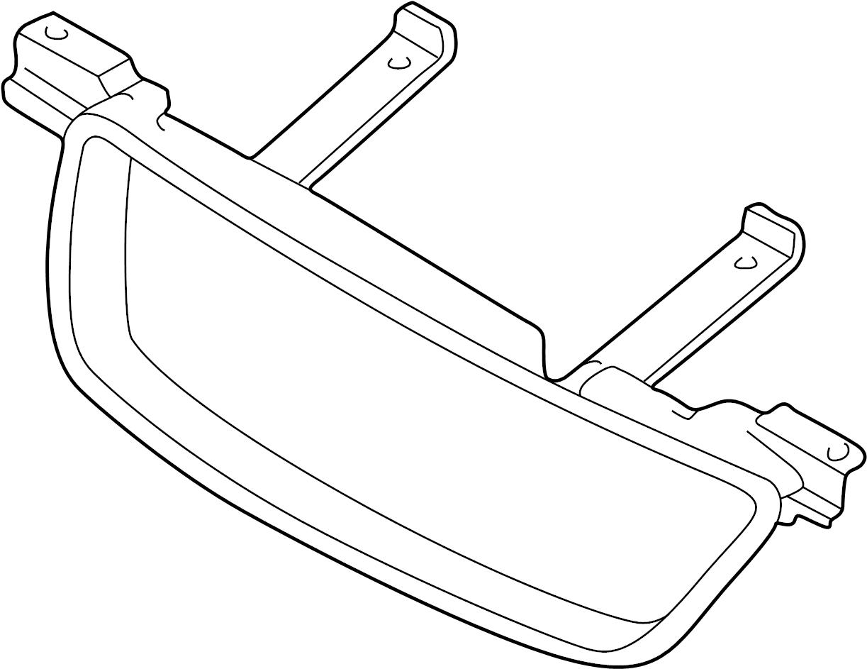 Nissan Sentra Grille Bracket