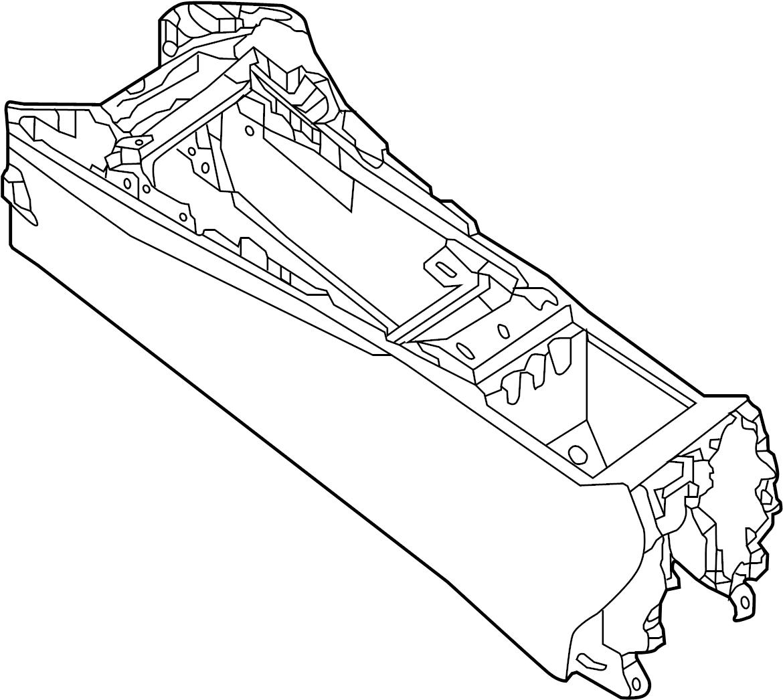 Nissan Maxima Seat Console Body Trim Interior Box