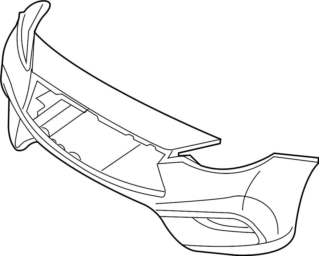 Nissan Maxima Fascia Kit Bumper Front