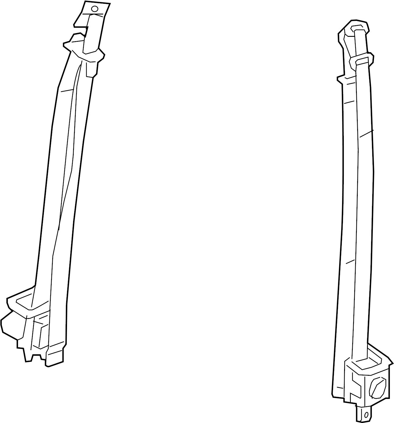 Nissan Titan Seat Belt Lap And Shoulder Belt Left Front