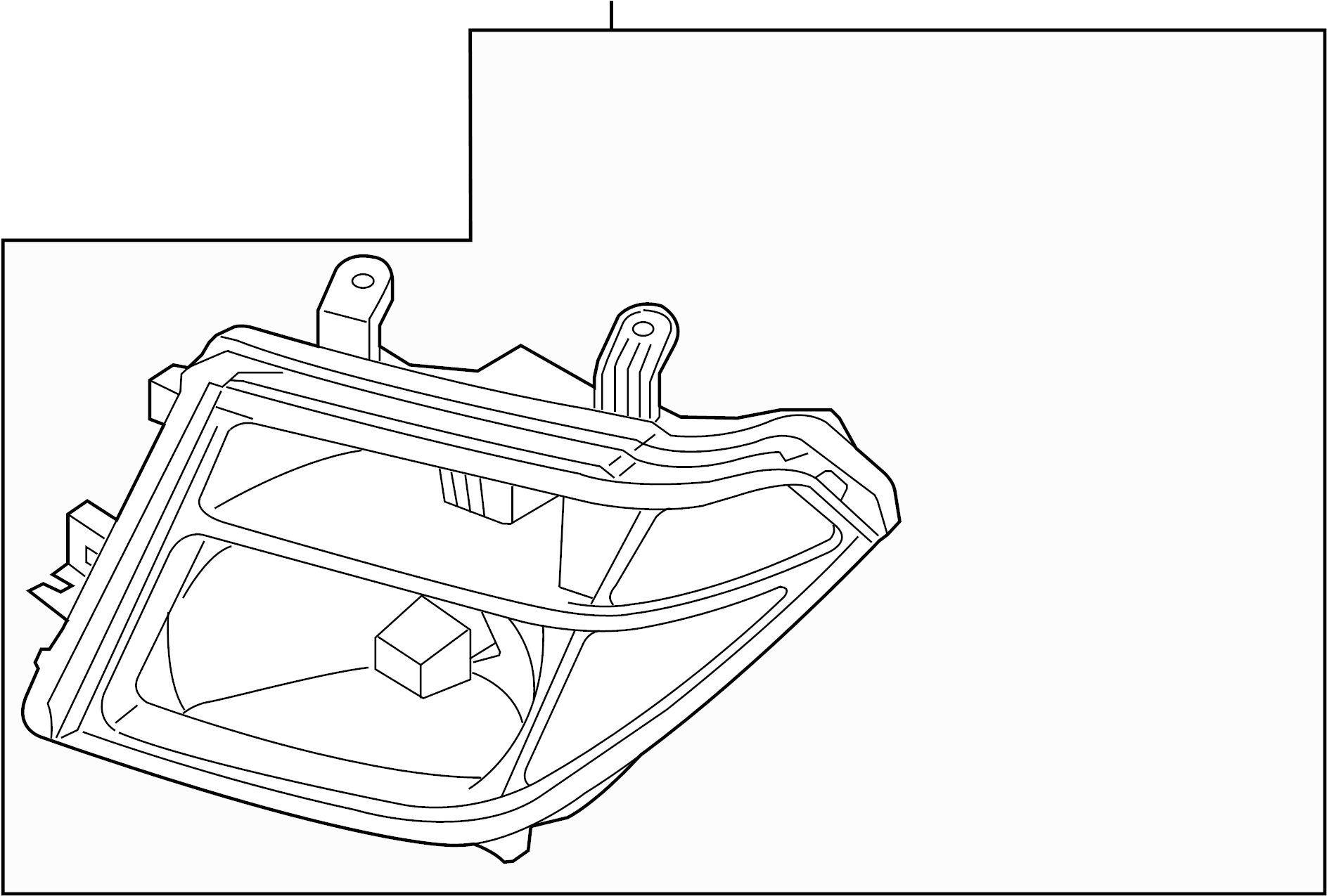 Nissan Pathfinder Headlight Lamp Left