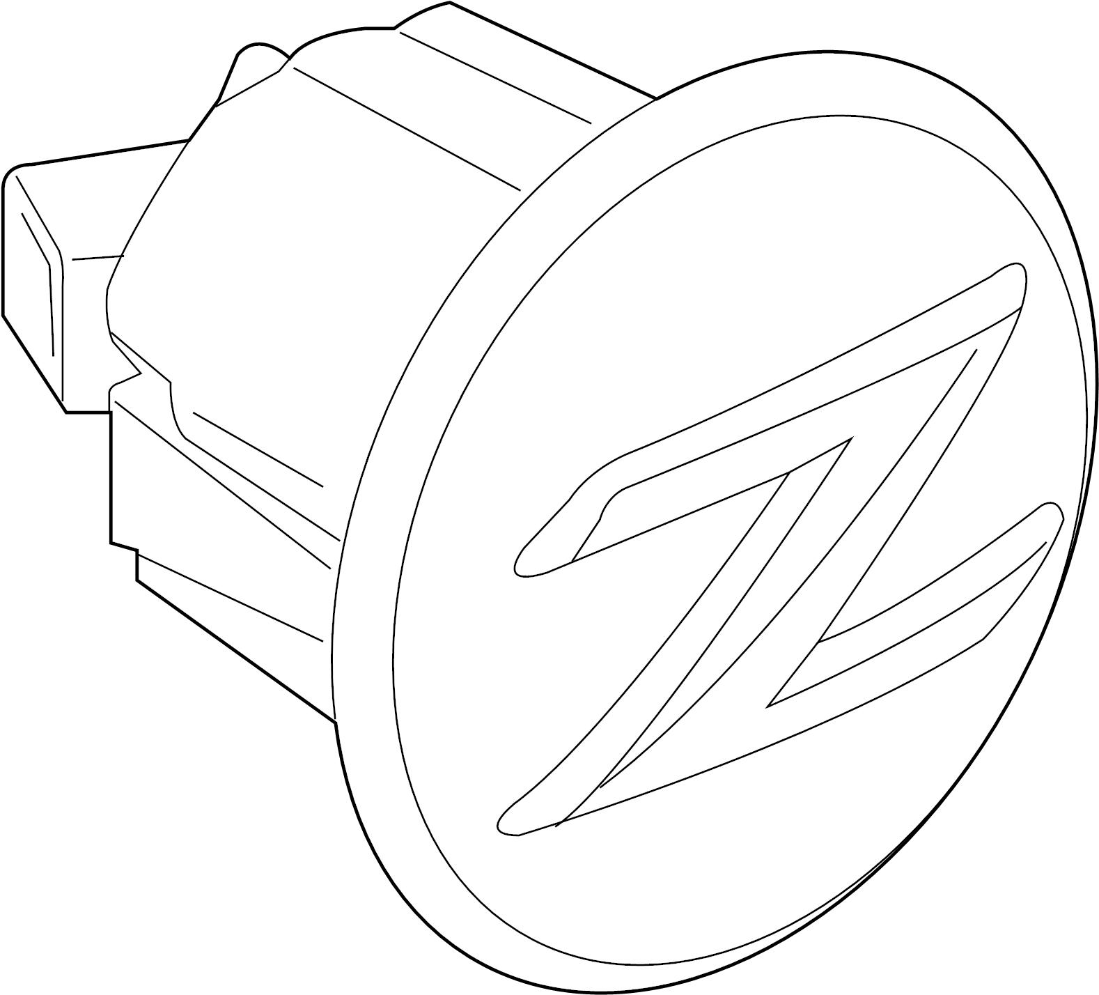Nissan 370z Turn Signal Light Lens