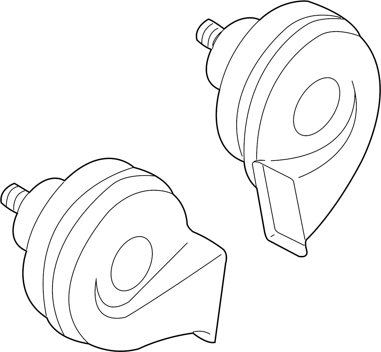 Nissan Quest Horn Dash Instrument Electrical