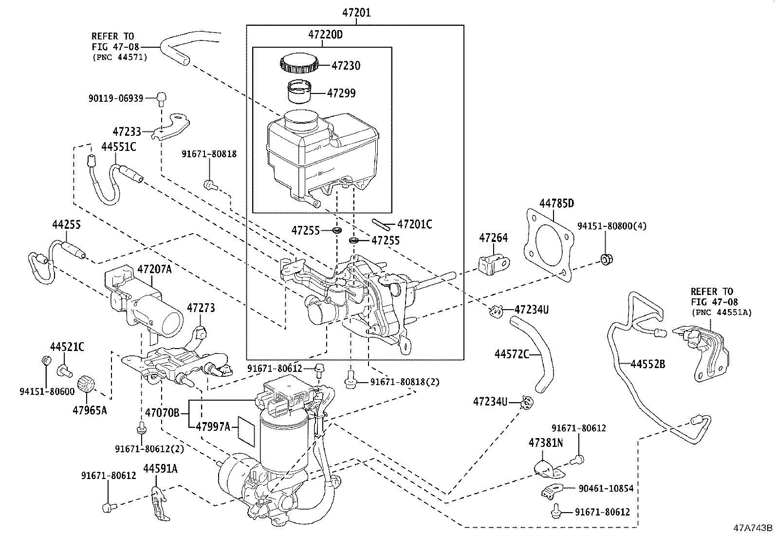 Lexus Lc 500 Reservoir Assembly Brake Master Cylinder
