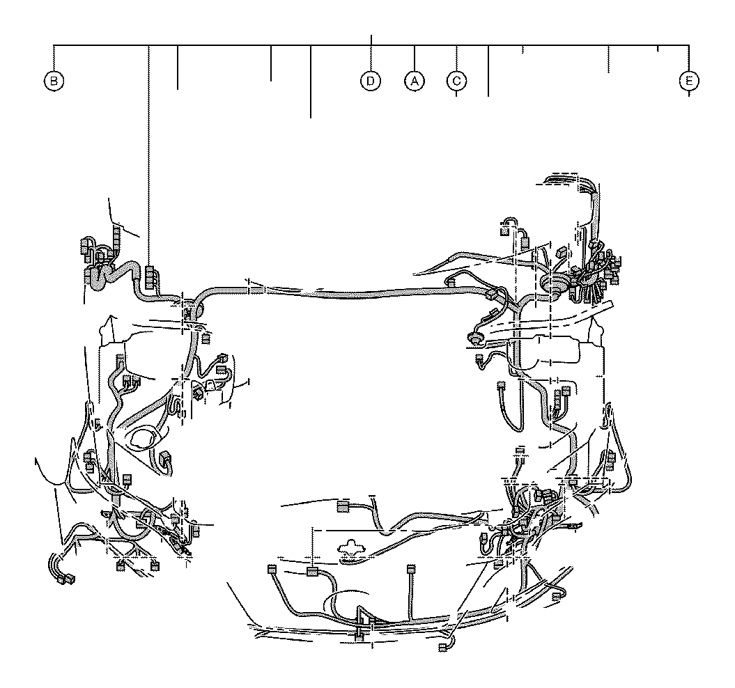 Lexus Rx 350 Connector Wiring Harness Engine Seat Room