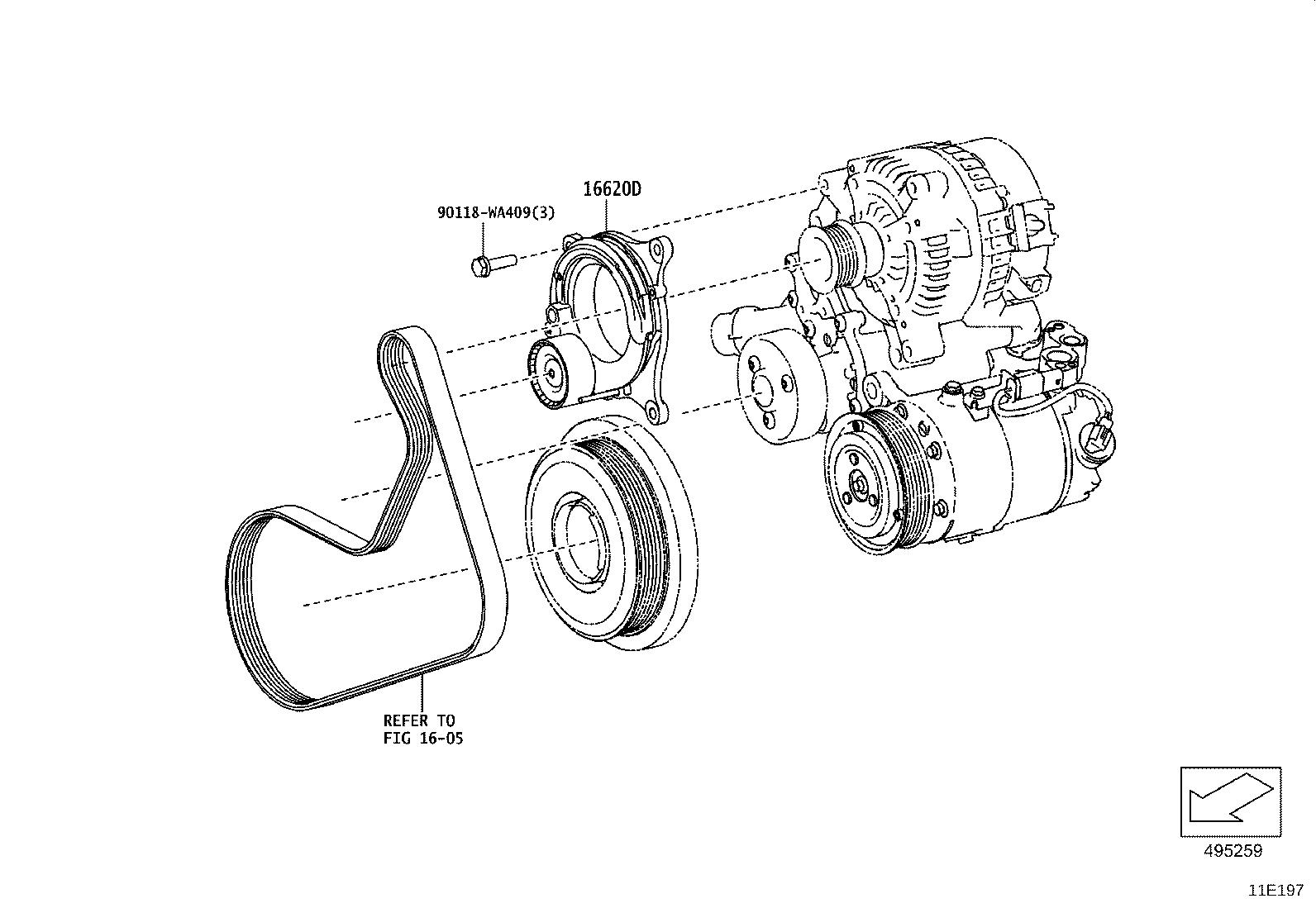 Toyota Supra Engine Timing Cover