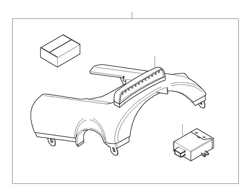 Mini Cooper Retrofit Kit For Gear Shift Indicator No