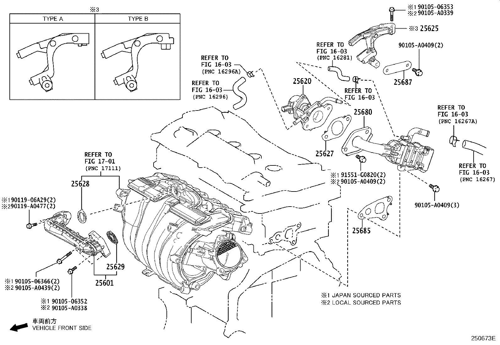 Toyota Rav4 Egr Cooler Cools Exhaust Gas Before It Enters