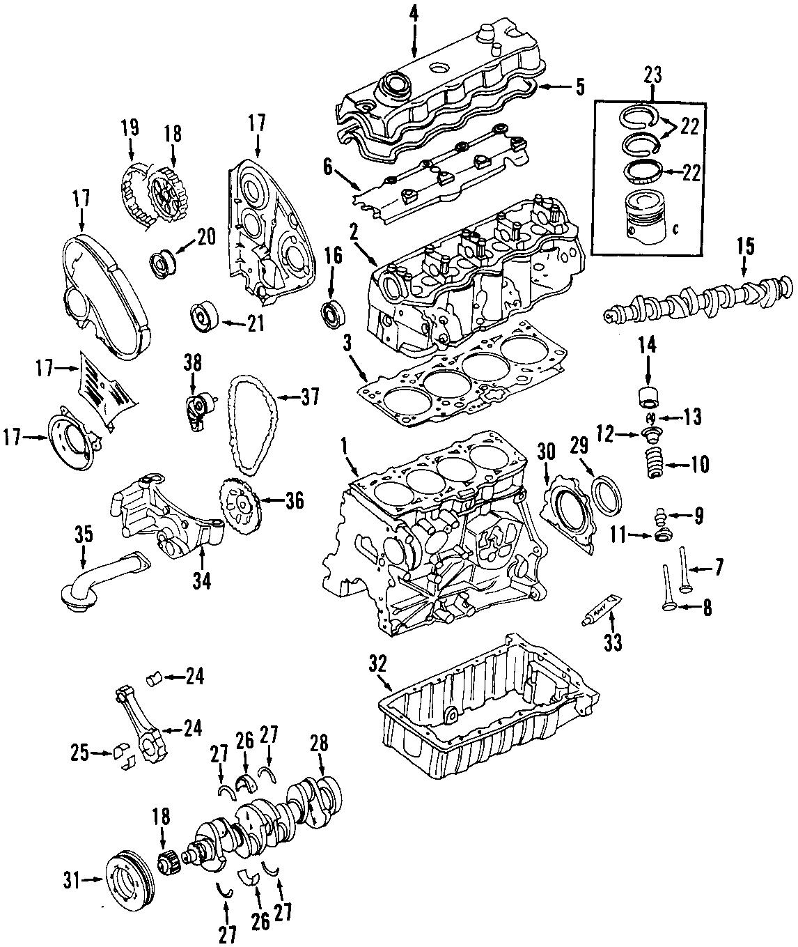Volkswagen Beetle Engine Camshaft