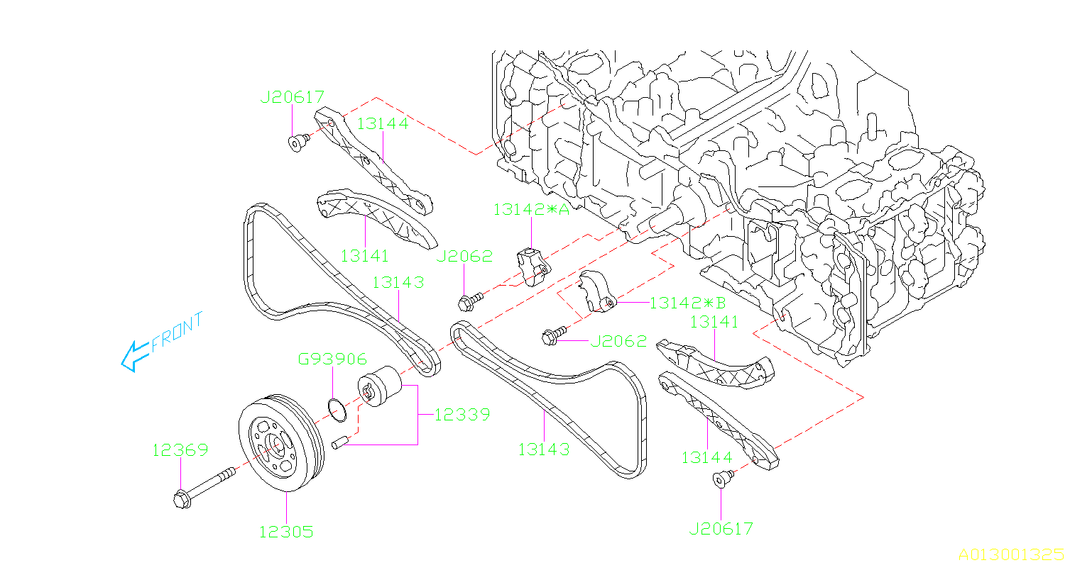 Subaru Outback Engine Timing Chain Guide Guide For The