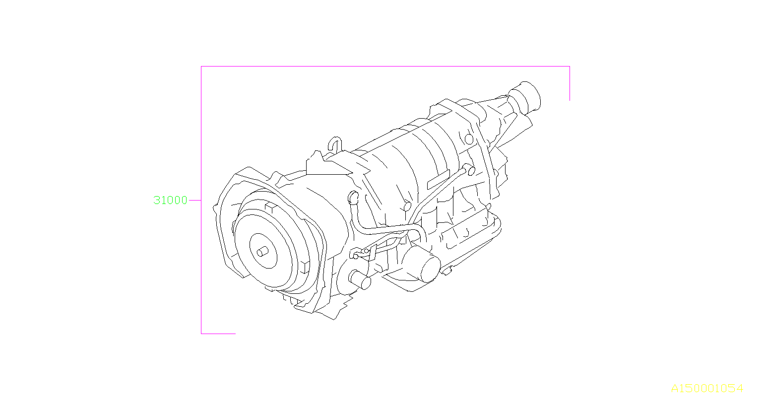 Subaru Forester Automatic Transmission Assembly