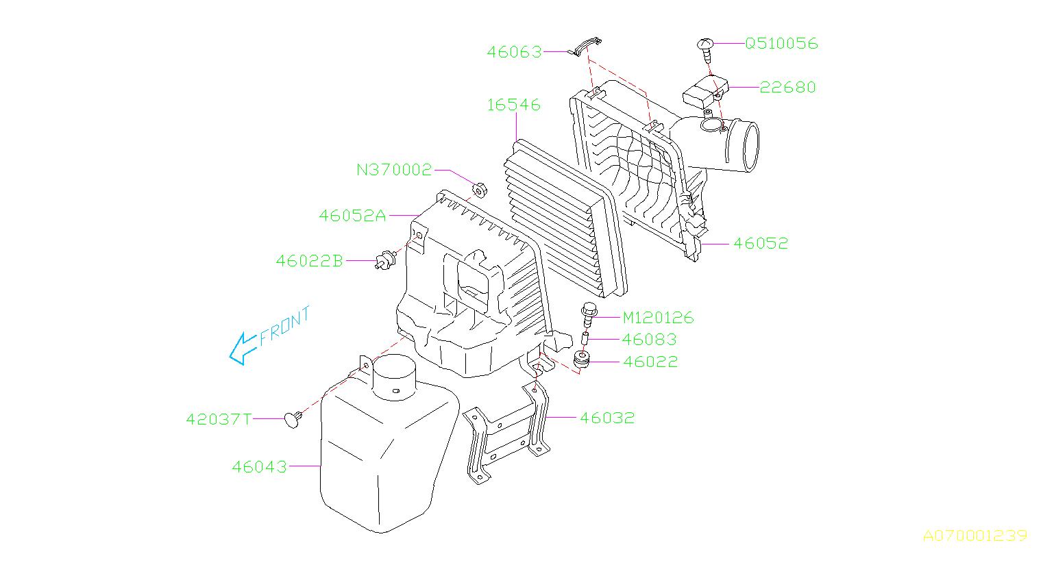 Subaru Engine Diagram Tribeca