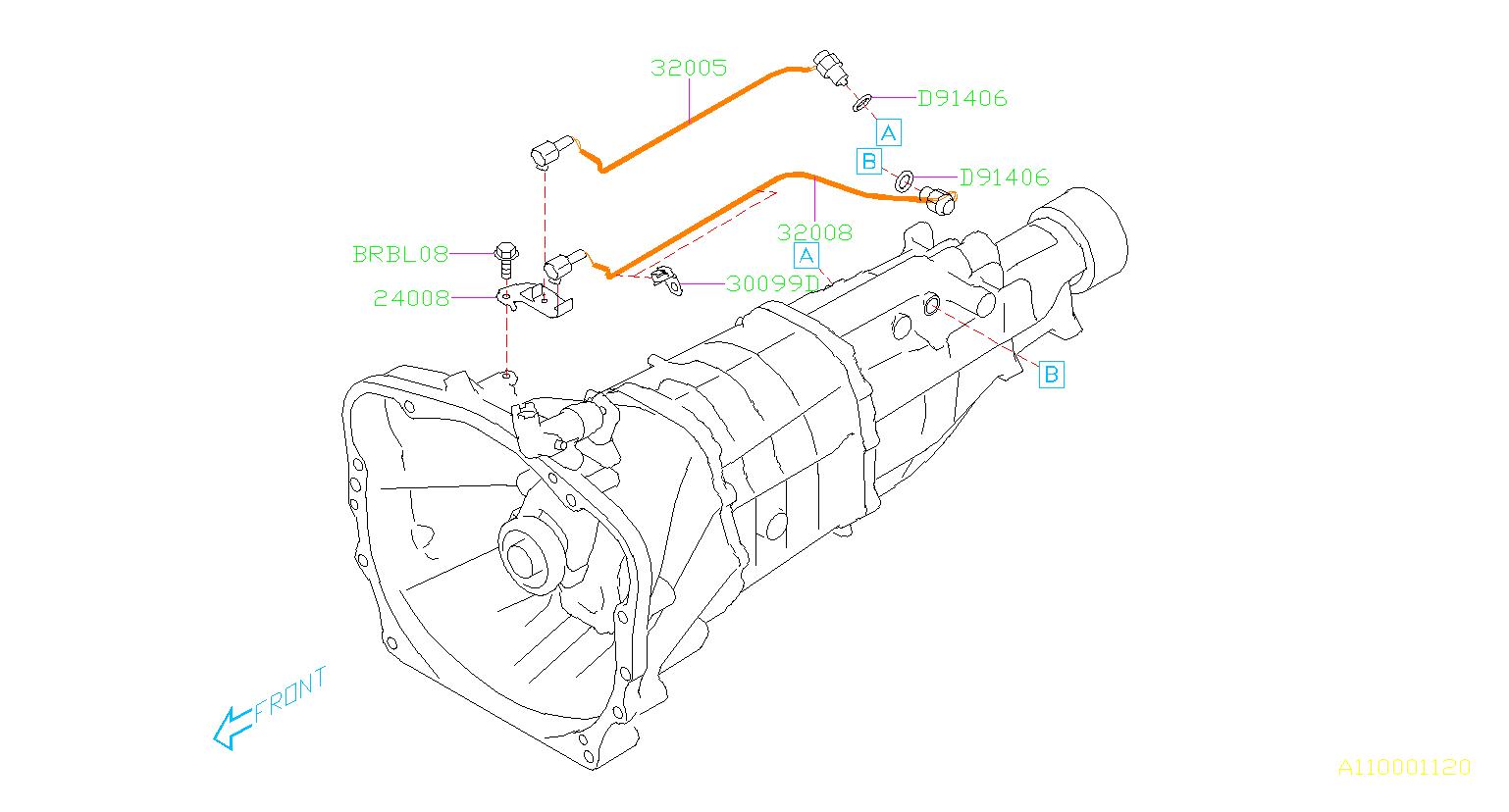 Subaru Brz Switch Assembly Neutral Transmission
