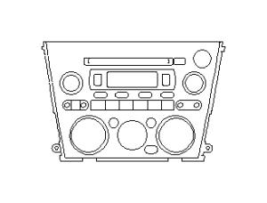 86201AG67B  Stereo deck Radio, audio  Genuine Subaru Part