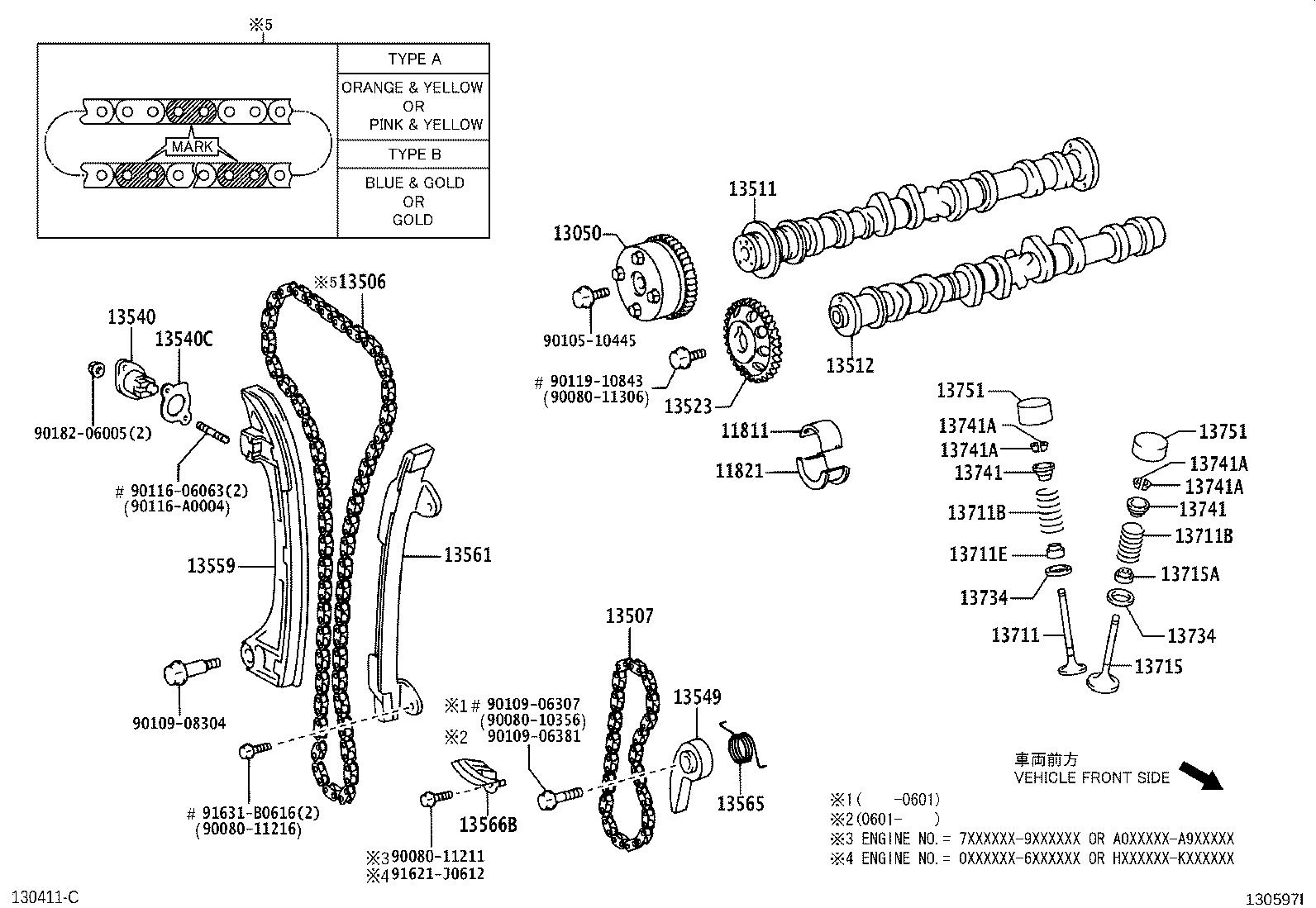 30 Toyota Camry Parts Diagram