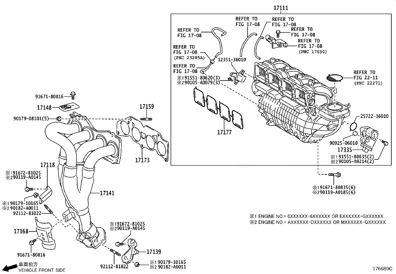 Toyota Sienna Catalytic Converter With Integrated