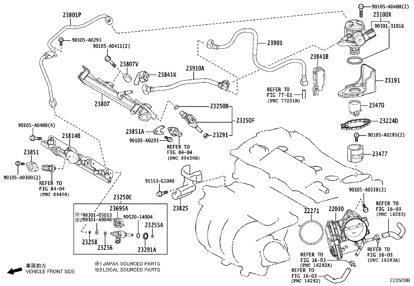 Toyota Avalon Protector Fuel Pump System Injection