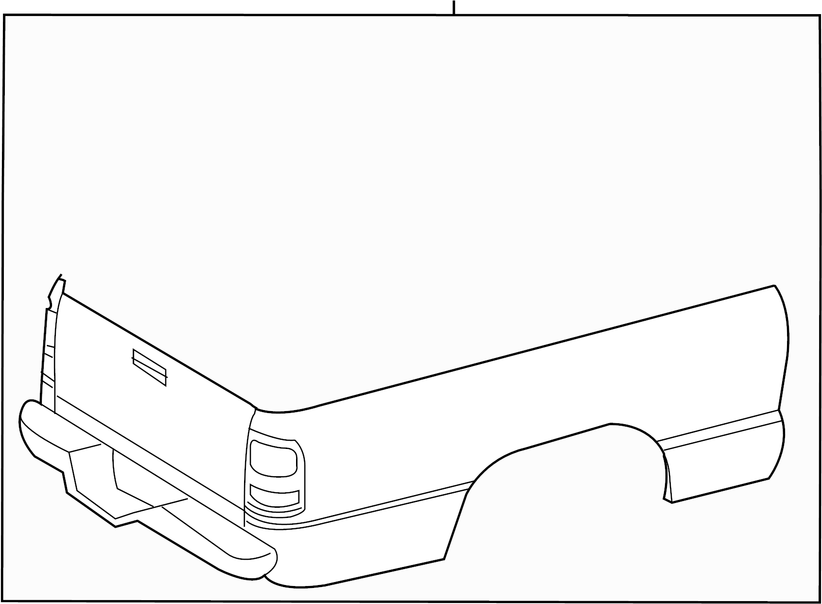 Toyota Tacoma Truck Bed Lid Front