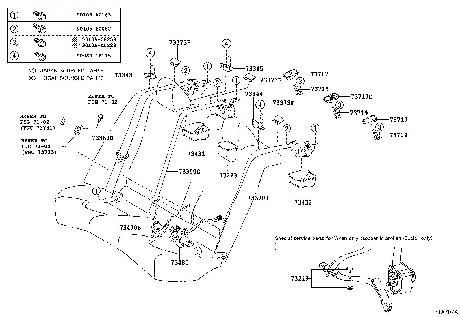 Seat Belt Retractor Fix | Wiring Diagram Database