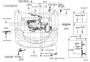 2018 Toyota Camry Cover, connector Wiring, electrical, clamp  8282133690  Genuine Toyota Part