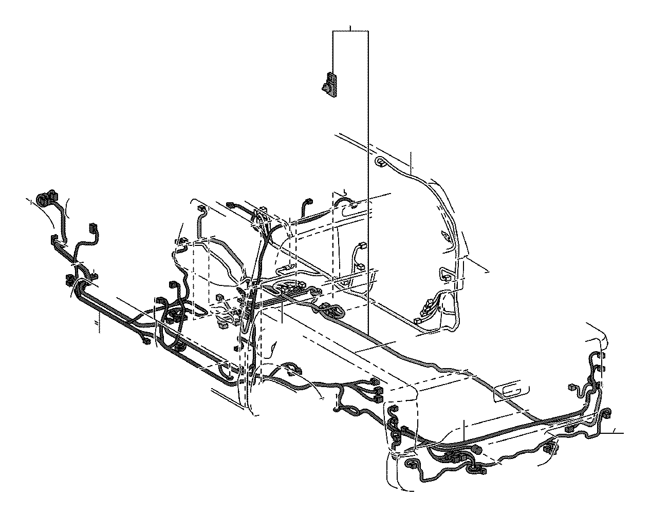 Toyota Tacoma Wire Frame Engine Clamp Roof