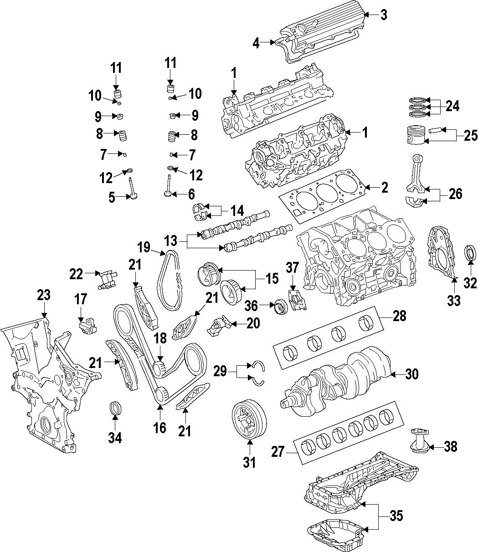 Toyota Venza Engine Piston Ring