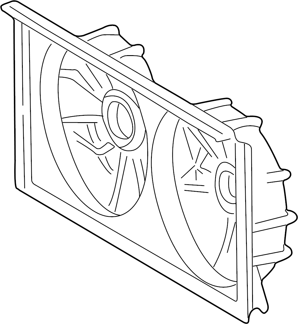 Toyota Celica Engine Cooling Fan Shroud