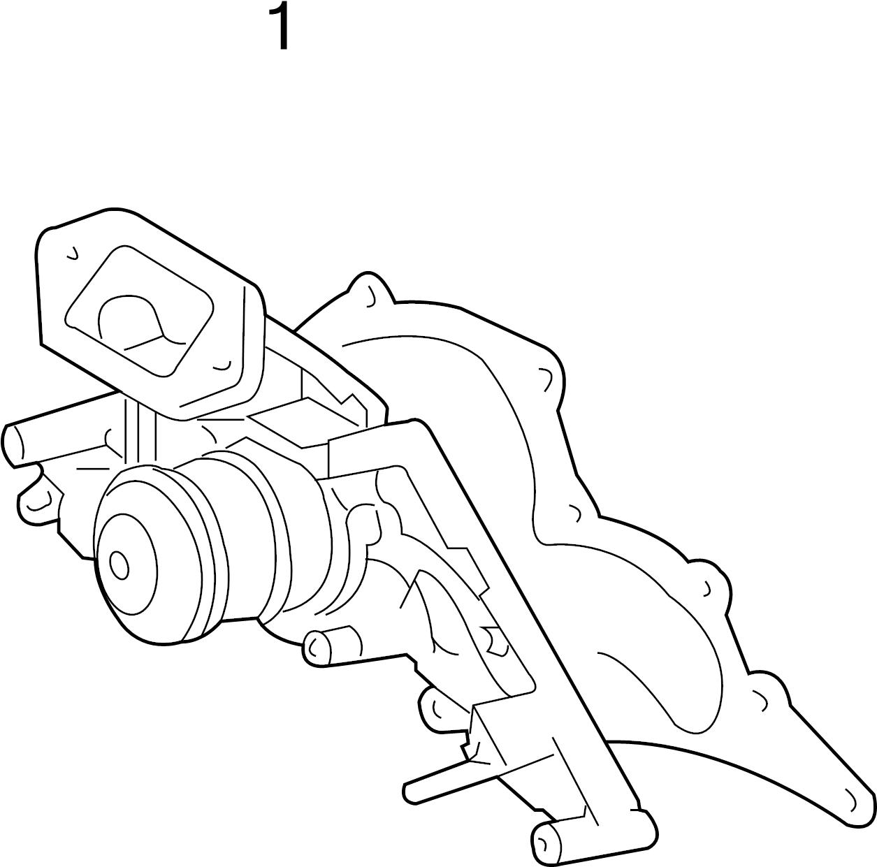 Toyota Land Cruiser Engine Water Pump Gasket 4 3 Liter 4