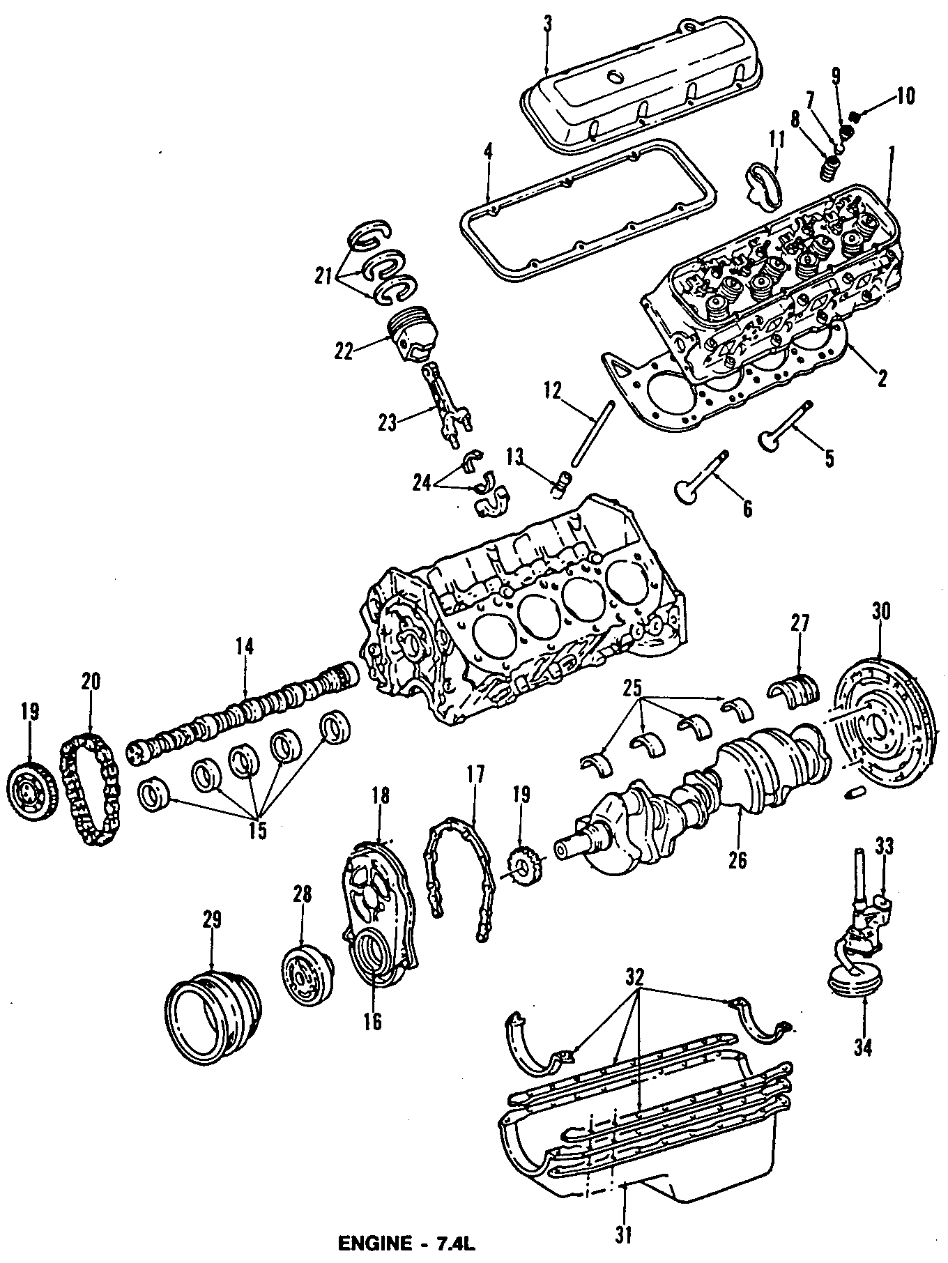 Chevrolet G30 Cover Assembly