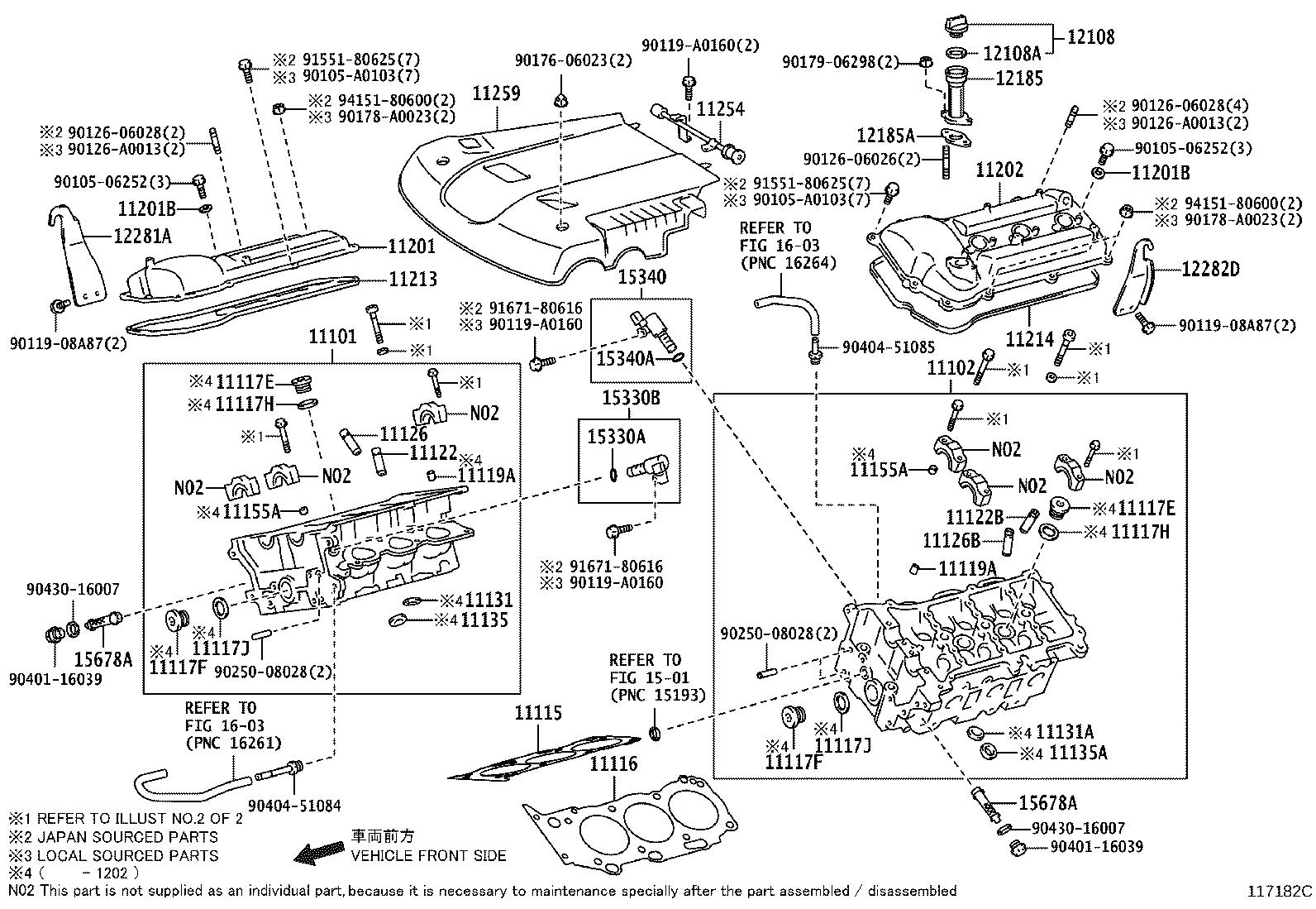 Toyota Tacoma Gasket For Water Hole