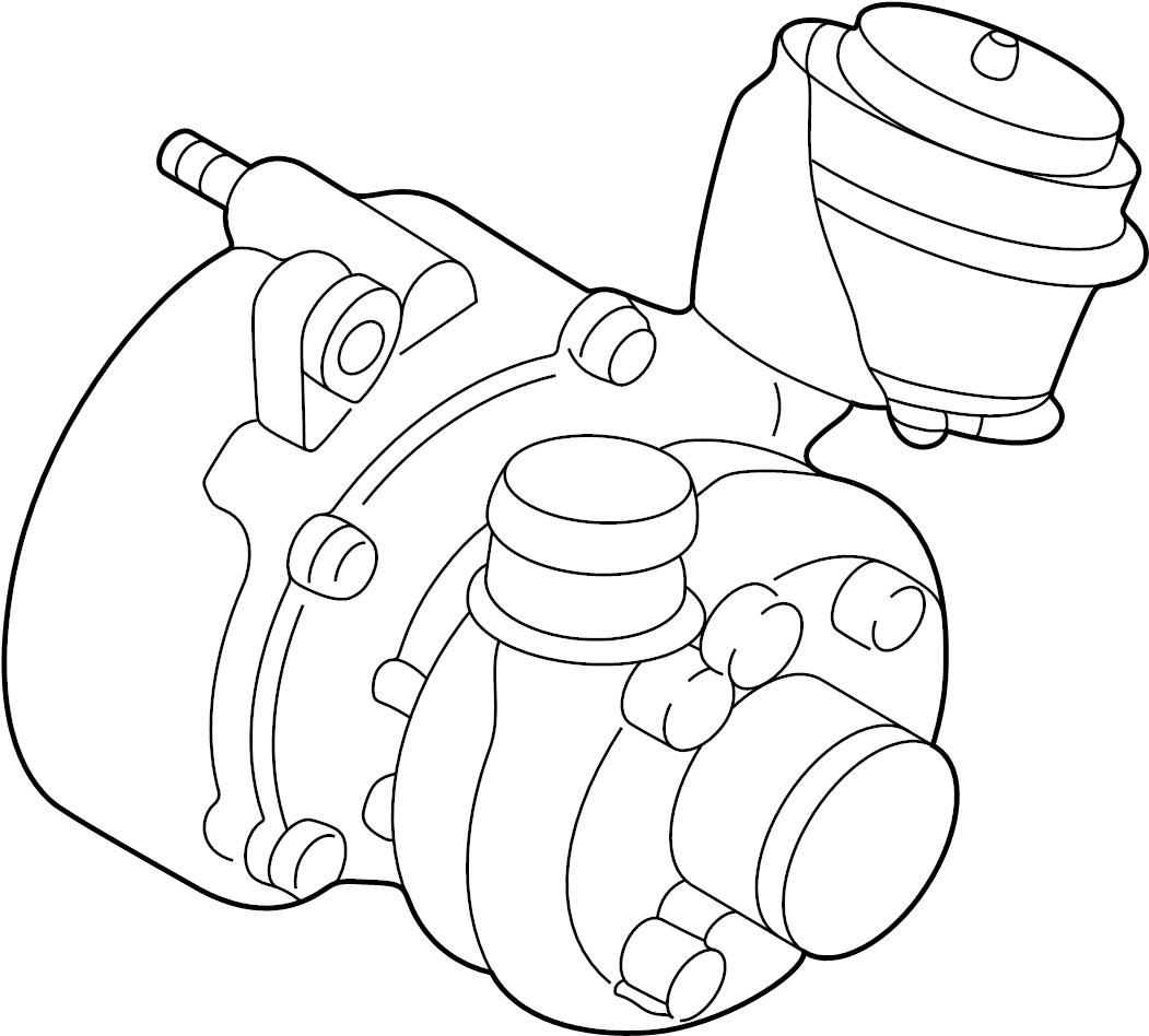 Volkswagen Beetle Convertible Exhaust Manifold