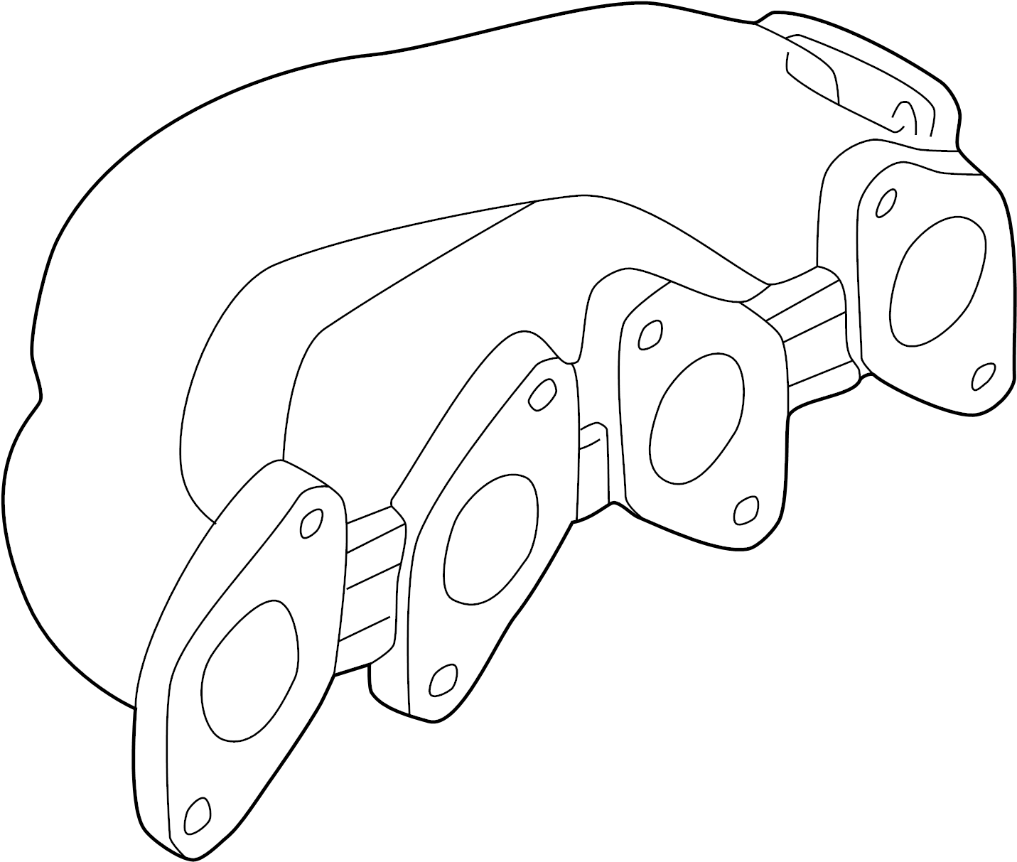 Volkswagen Passat Wagon Exhaust Manifold Liter Style System