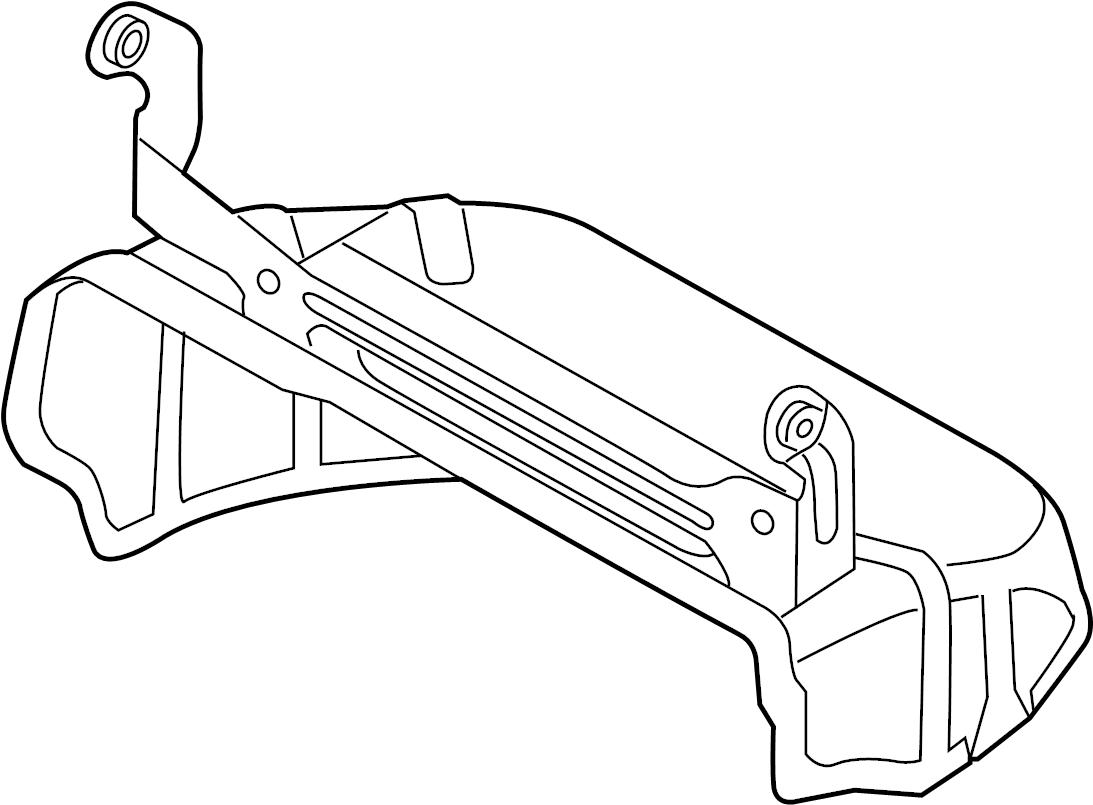Volkswagen R32 Exhaust Heat Shield Exhaust Manifold Heat