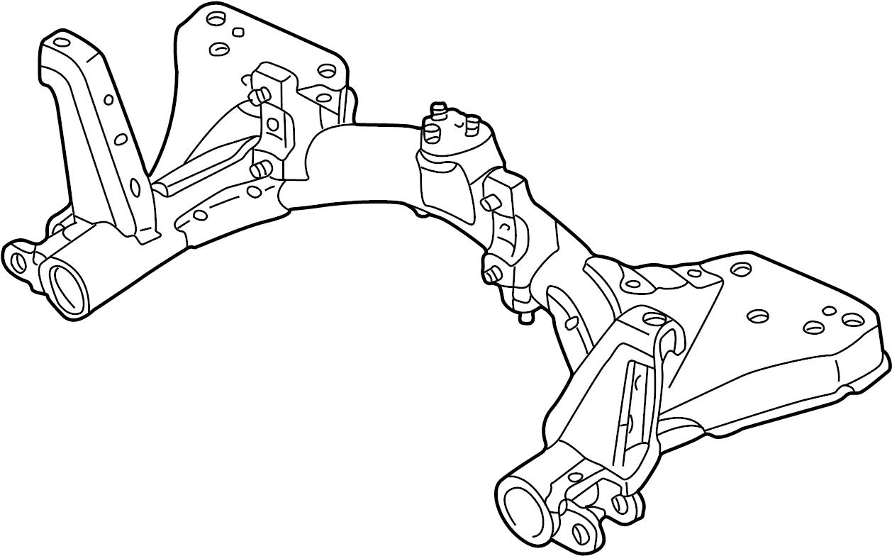 Mazda Protege5 Engine Cradle Protege W Sport Suspension
