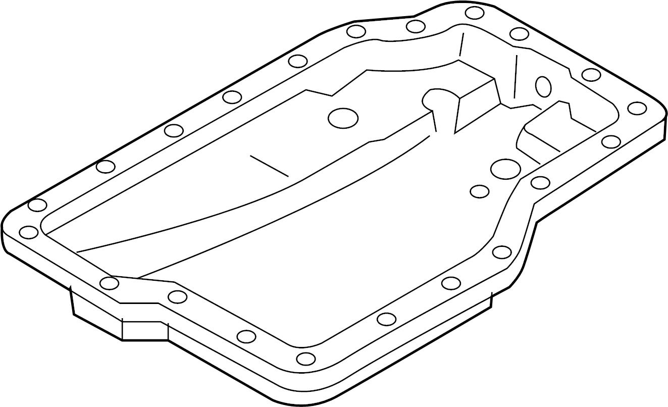 Mazda Protege Automatic Transmission Oil Pan