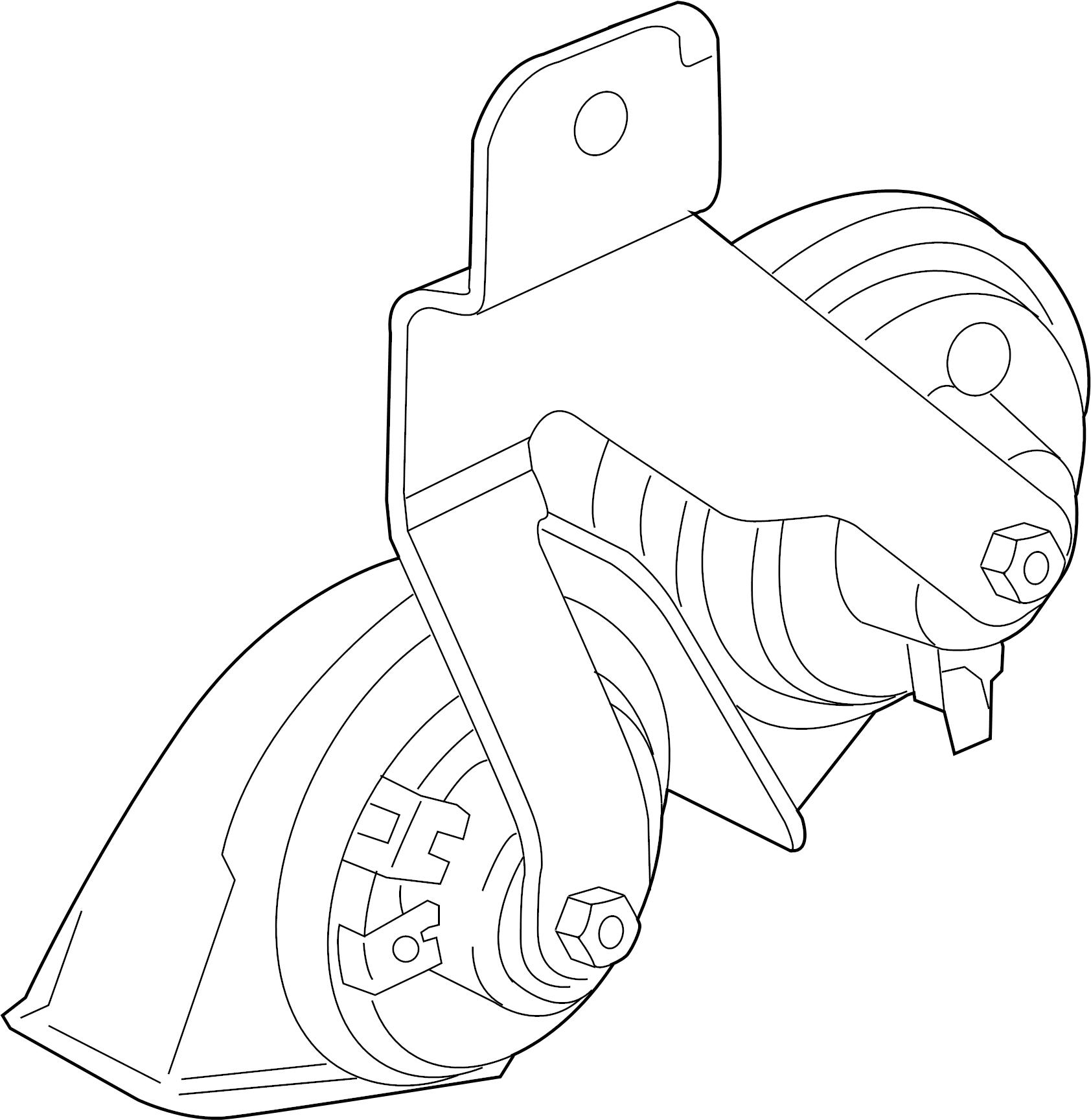 Mazda 6 Horn