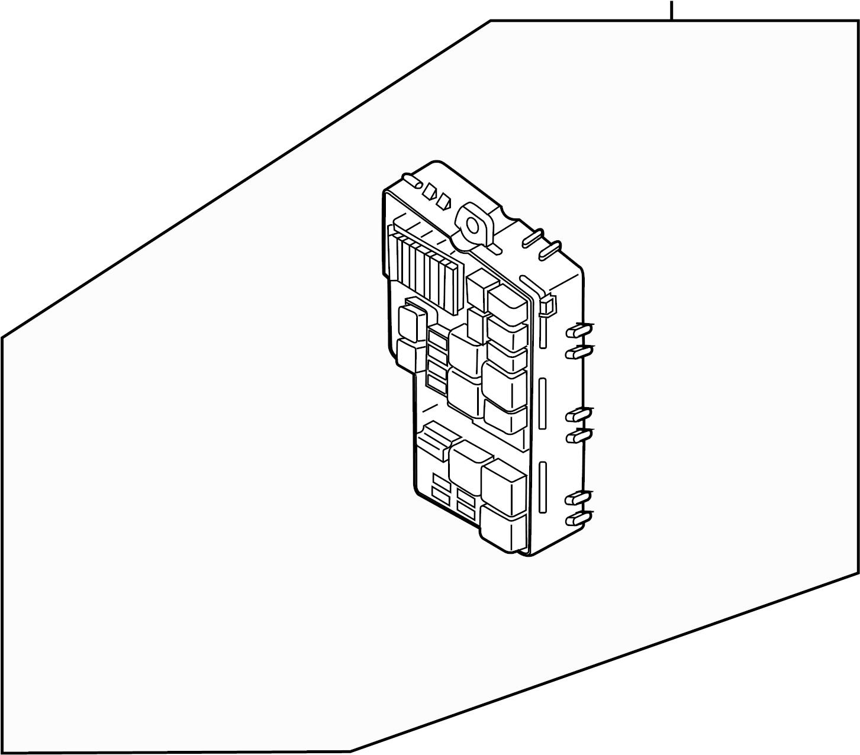 Mazda Cx 7 Fuse Box Engine Compartment W O Washer Level