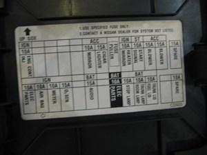 2003 Nissan 350z LH KickFuse Panel | eBay