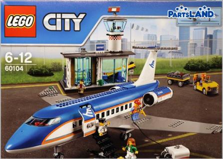 LEGO 60104 空港ターミナルと旅客機| ホビーオフ 秦野店